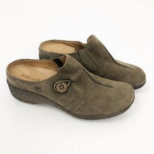 Timberland Comforia Women's Button Mule Clogs